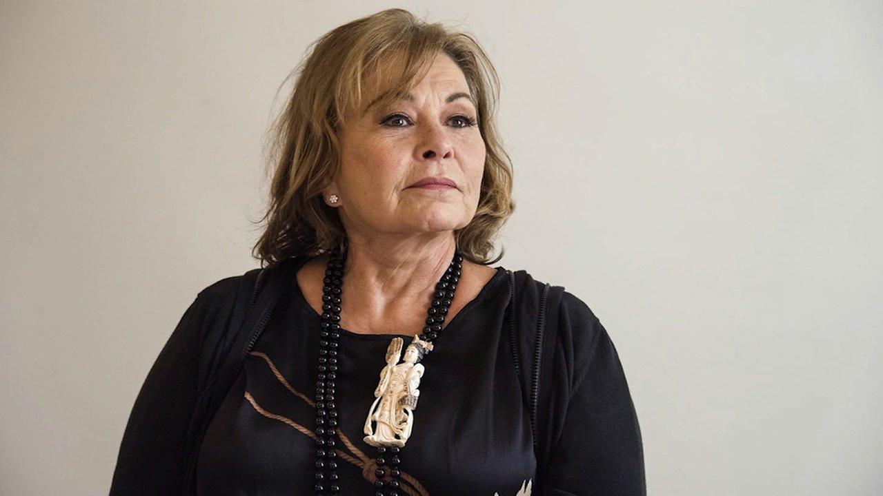 Roseanne Barr says she plans to be traveling abroad when The Conners premieres without her this fall.