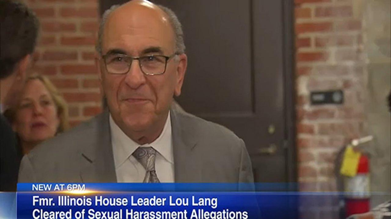 Former Illinois House Leader Lou Lang has been cleared of all sexual harassment allegations.
