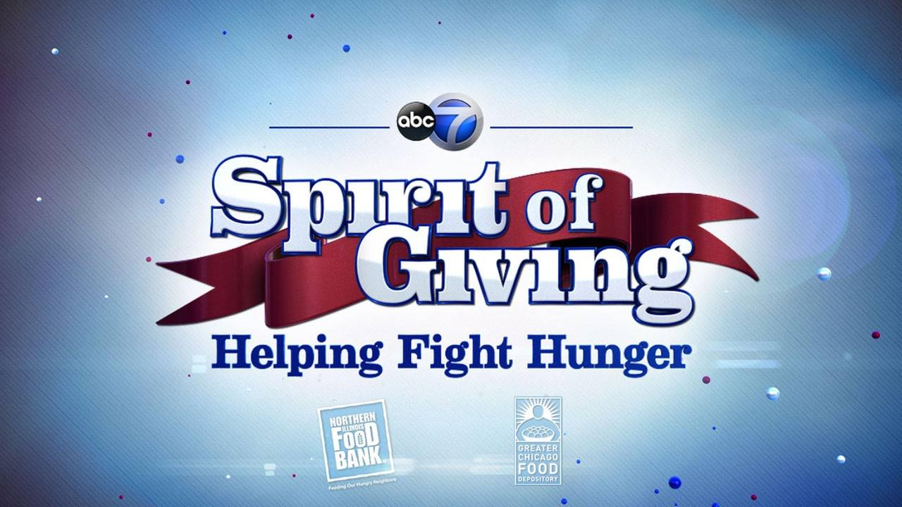 Spirit of Giving: Helping Fight Hunger