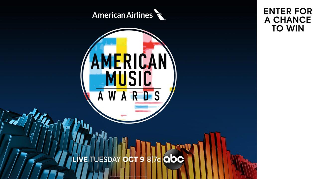 Win a trip to the American Music Awards