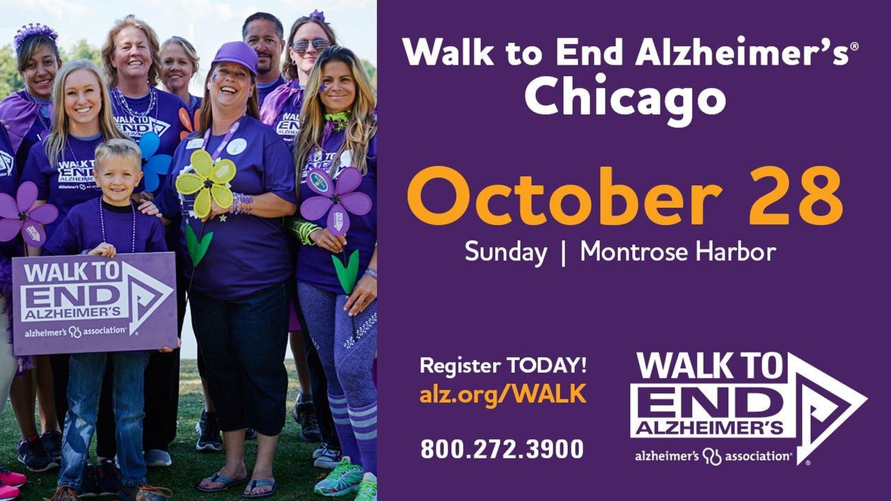 Alzheimer's Association Walk to End Alzheimer's 2018