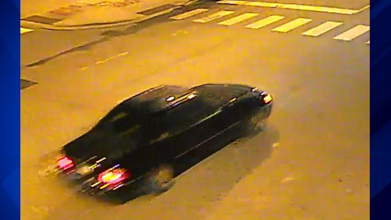 Police released photos of a black Acura RL sought in connection with a fatal hit-and-run crash on Aug. 21 in South Chicago.