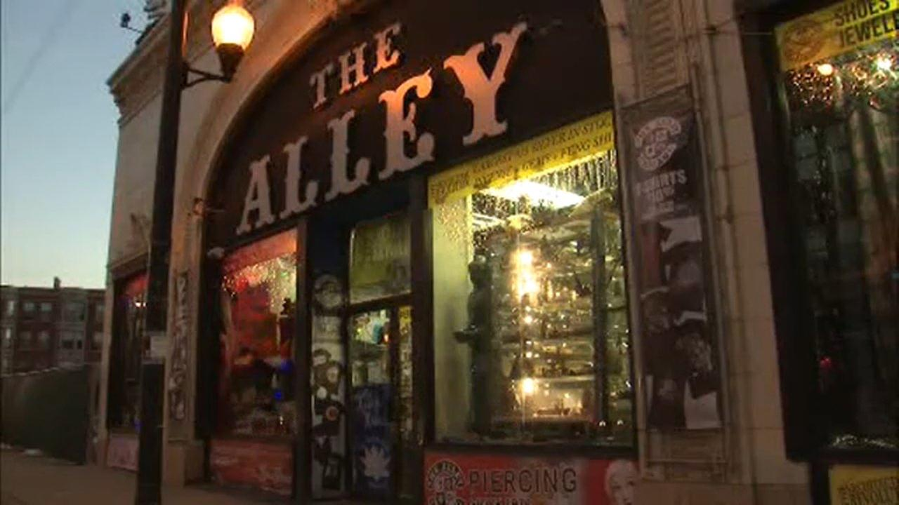 The Alley was located at 3228 North Clark Street for 39 years, until it closed in 2015.