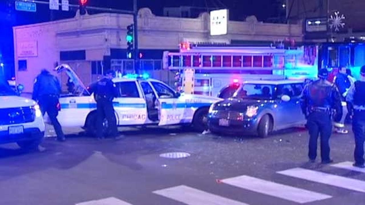 2 police officers injured in Logan Square crash