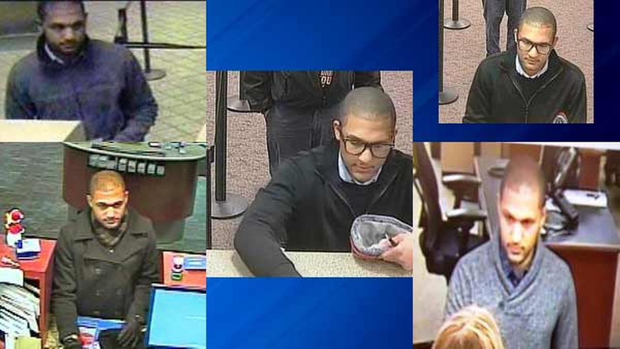 FBI seeks 'Skinny Jeans Bandit' in 5 bank robberies