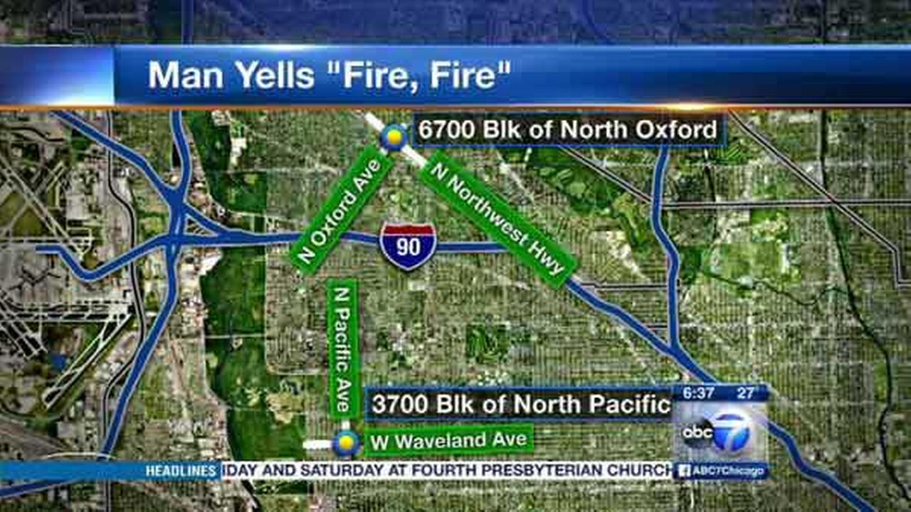 Man yells, 'Fire! Fire!' in Far NW Side home invasions, police say