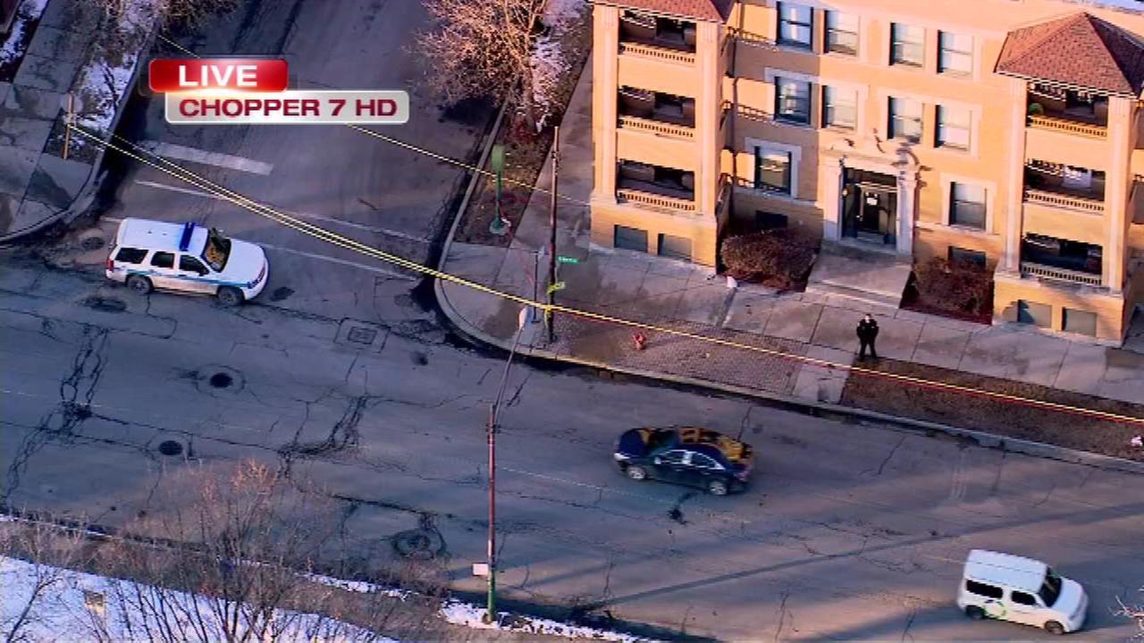 Man shot in Bronzeville