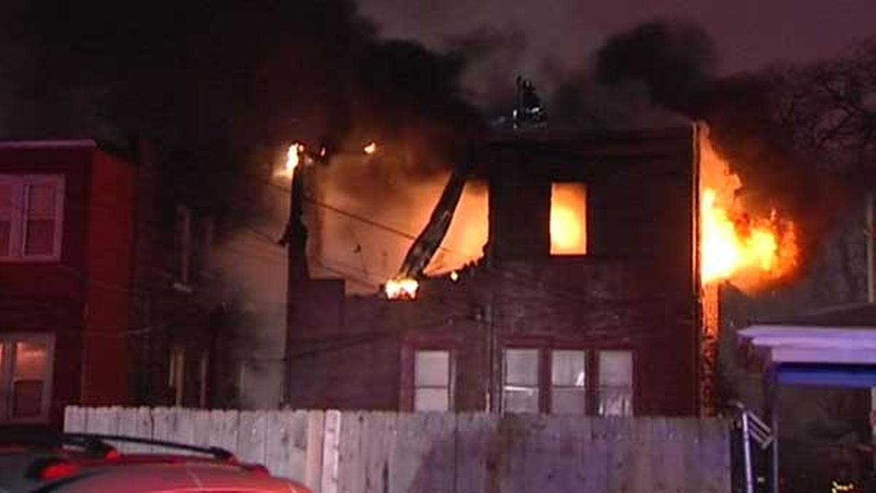 Several displaced by Maywood apartment building fire
