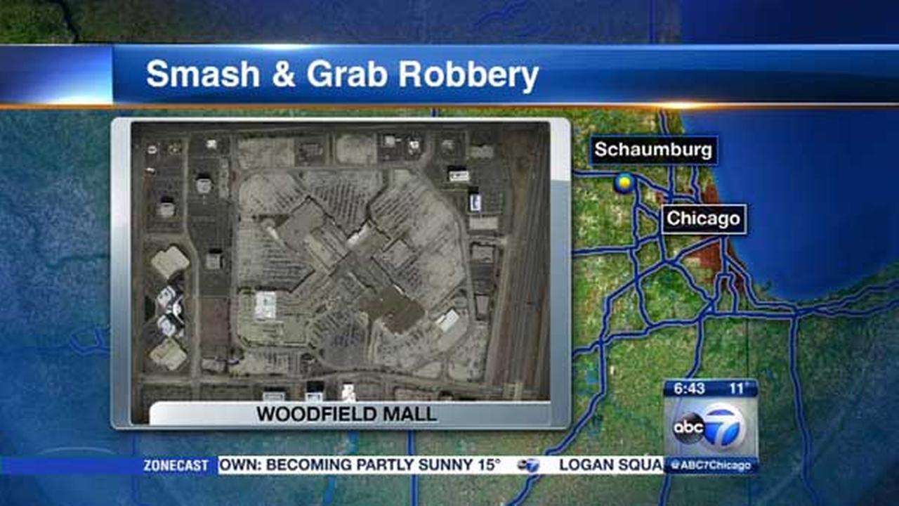 More than $425K in loose diamonds stolen in smash-and-grab near Woodfield Mall