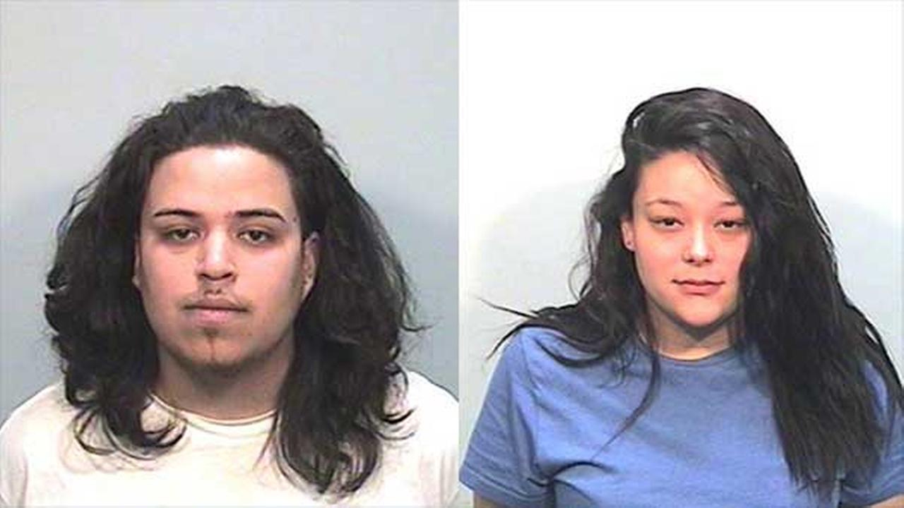 Kyle Matus, 21, and Lillian Serna, 23.