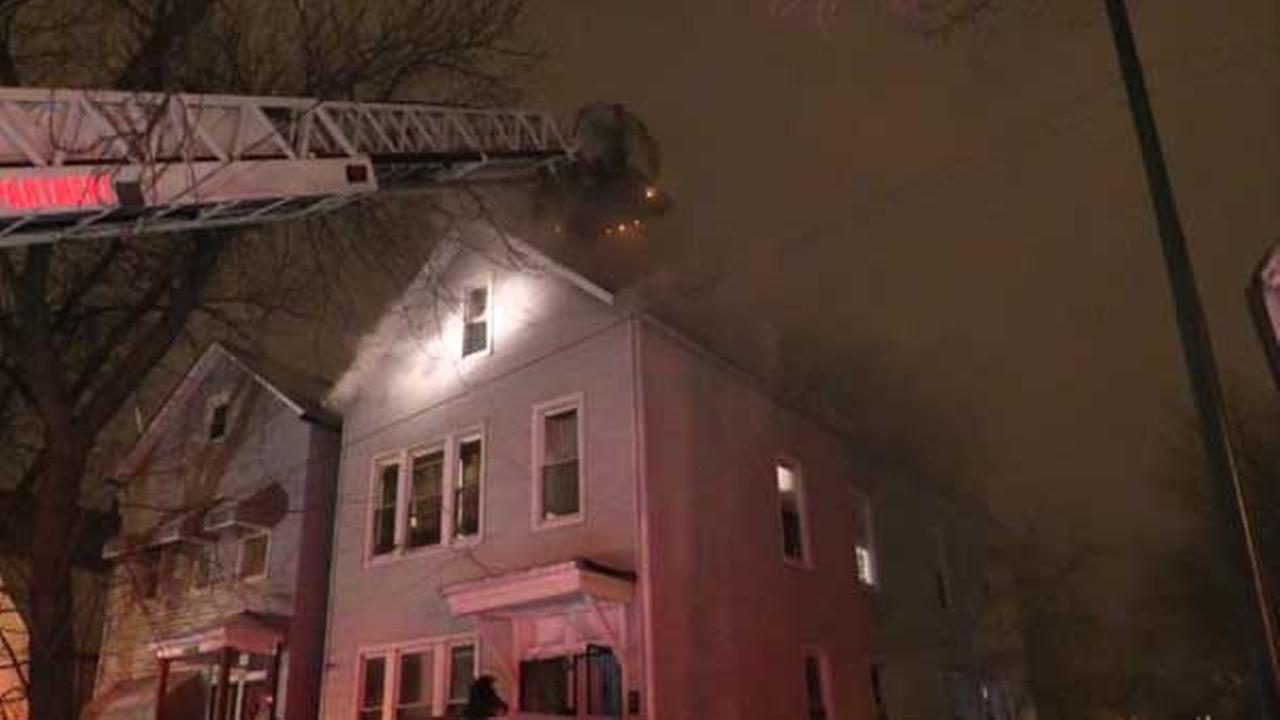 Man rescued from Back of the Yards apartment fire