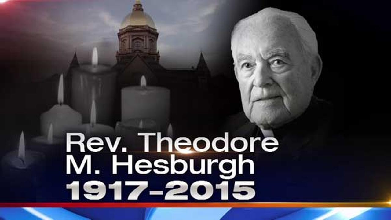 Fr. Ted Hesburgh, former Notre Dame president, dies at 97