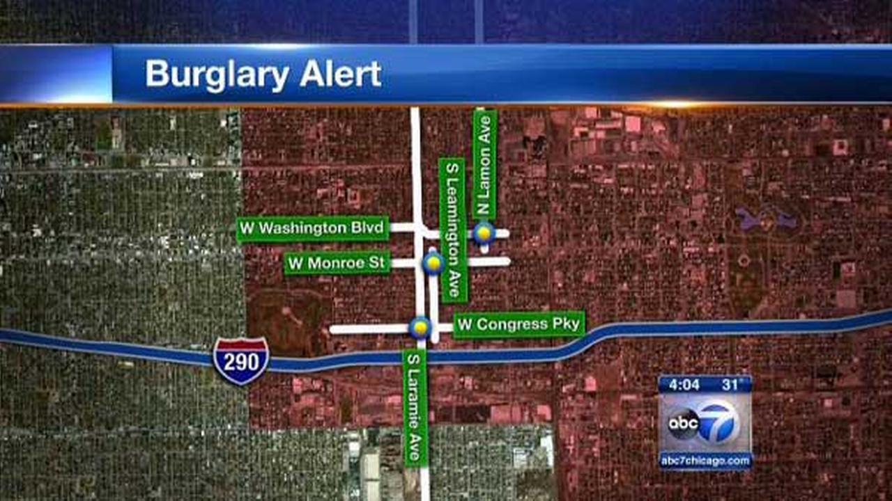 Burglars target Austin homes, police say