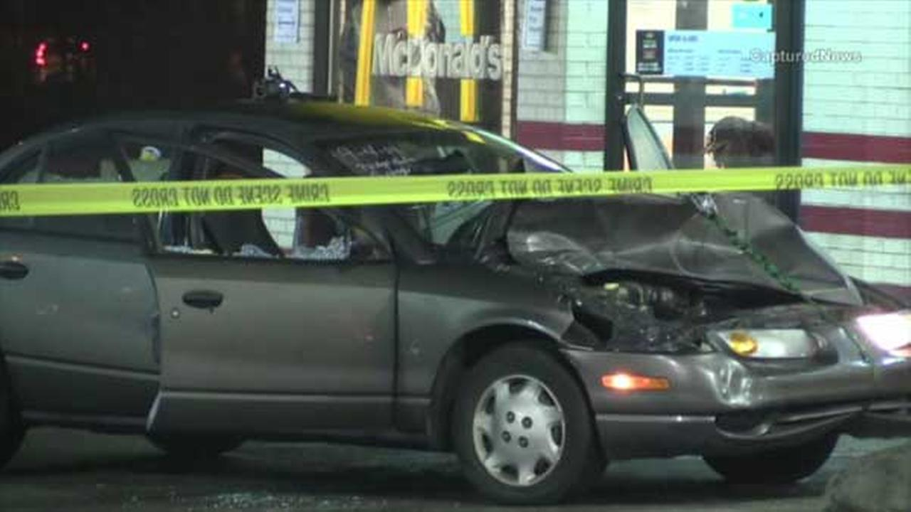 Gary police investigate possible shooting in McDonald's parking lot