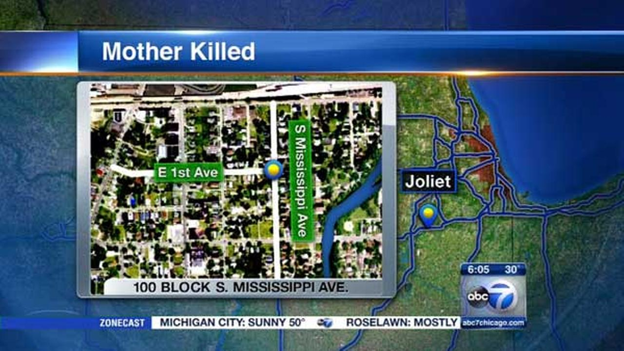 Mother of 3 fatally shot in car with children inside in Joliet