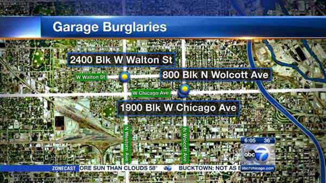Police warn of West Town garage burglaries