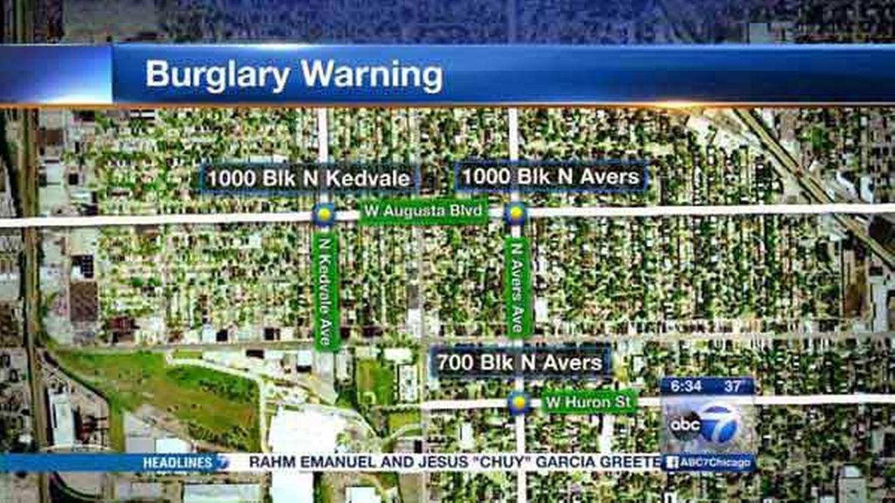Several apartments burglarized in Humboldt Park, police say