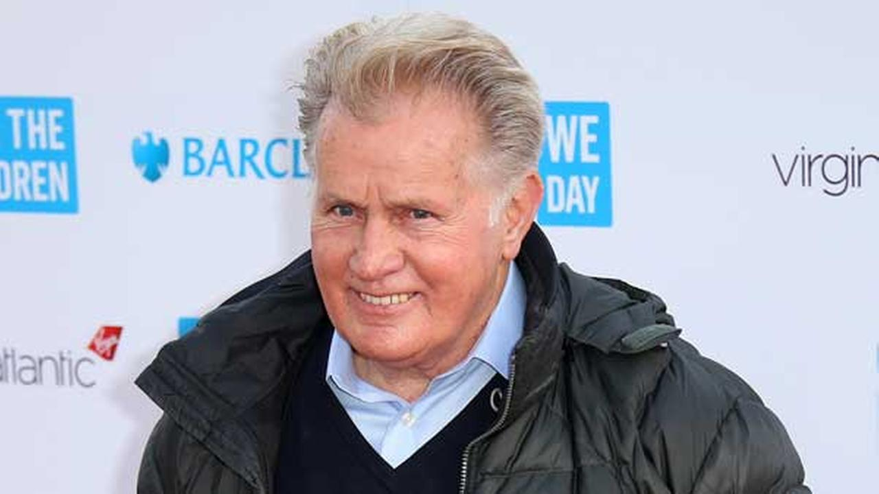 FILE - In this March 5, 2015 file photo, actor Martin Sheen poses for photographers on arrival at We Day UK at Wembley Arena, in west London.