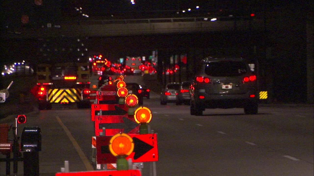 Lane closures Saturday morning on Lake Shore Drive