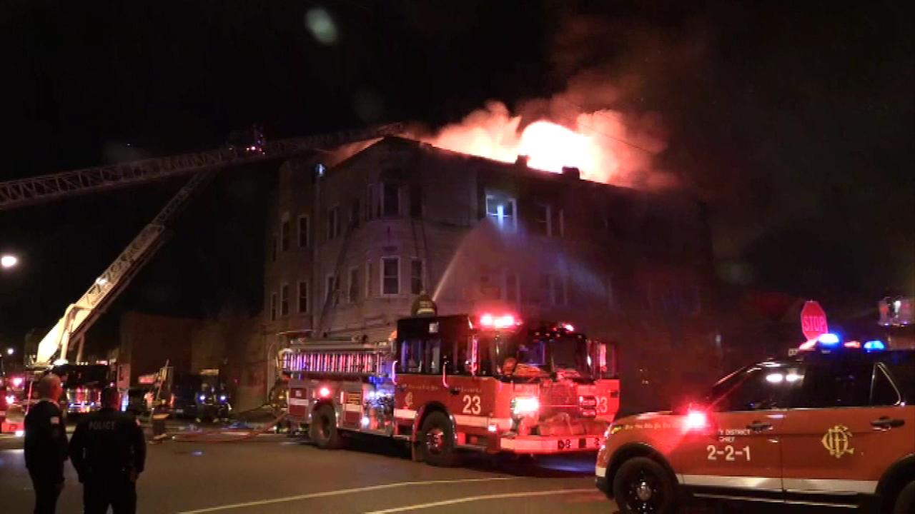 Fire displaces 25 people in Pilsen