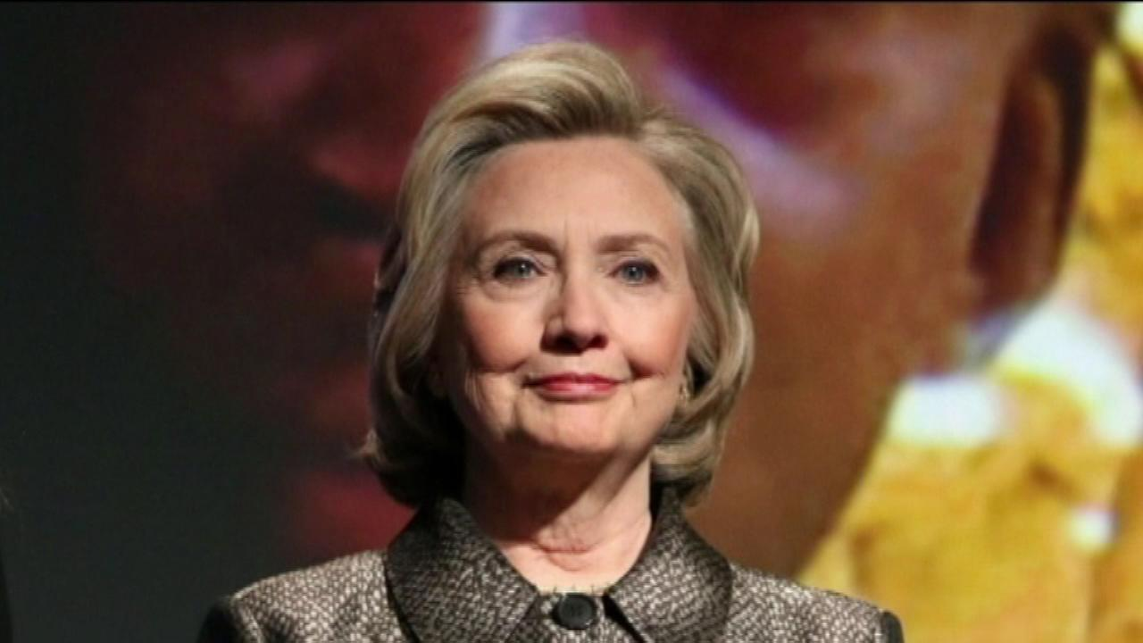 Hillary Clinton in the Bay Area for fundraising events