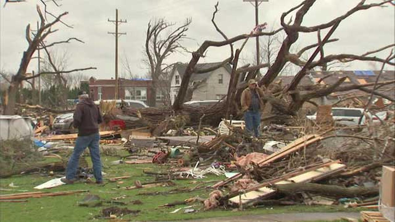 Help centers re-open for tornado victims