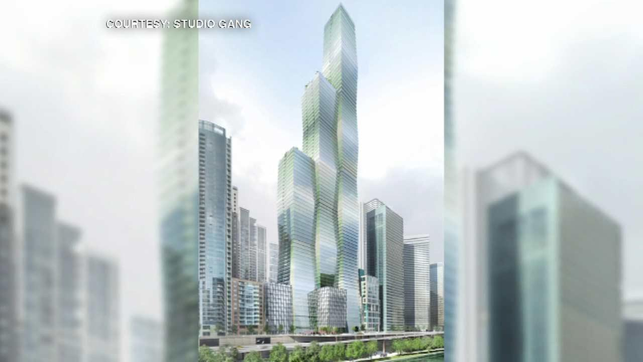 Renderings show proposed skyscraper that would be Chicago's 3rd tallest