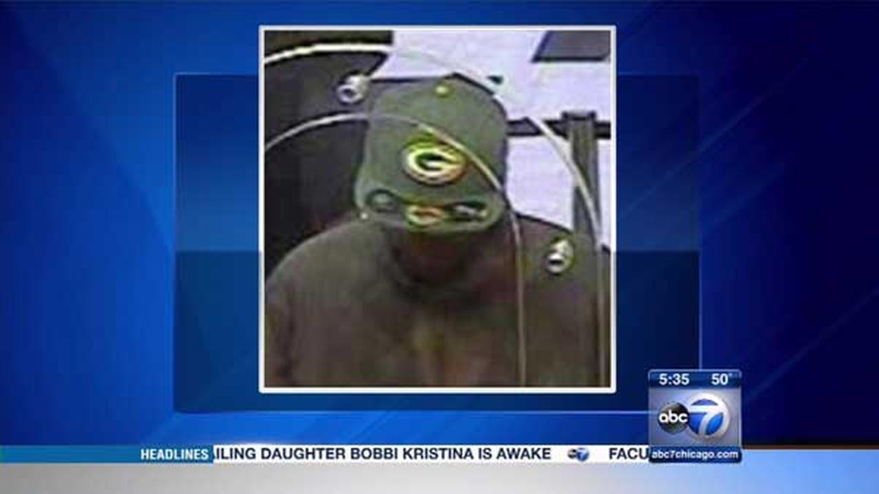 A man wearing a Green Bay Packers hat tried to rob a South Side bank., the FBI said.