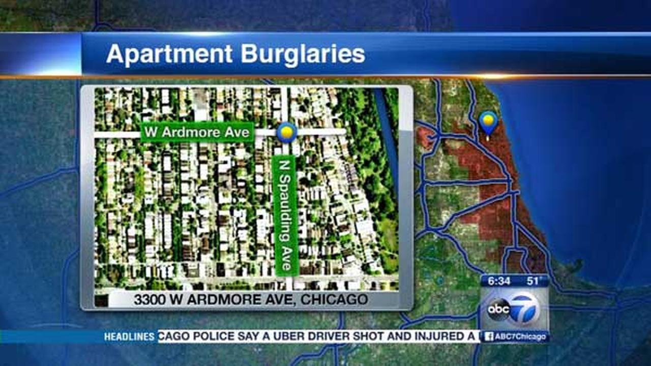 Burglars target Northwest Side homes, police say