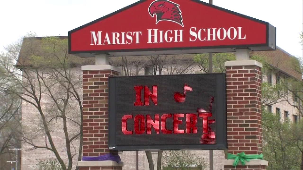 Extra security at Marist High School after Facebook threat