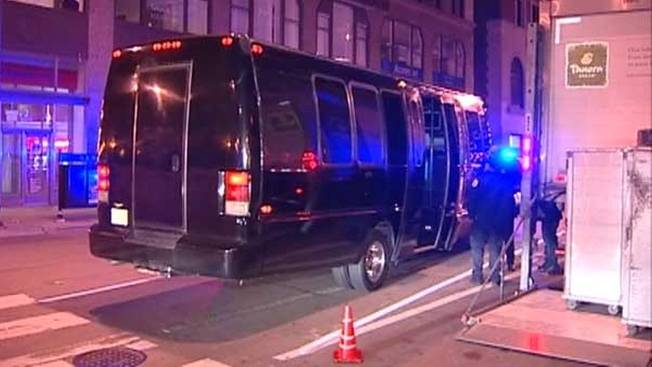 Woman shot on party bus on Lake Shore Drive