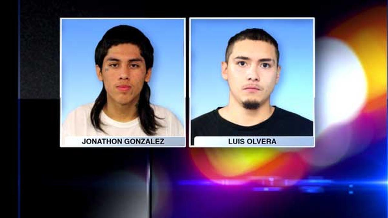 Jonathon Gonzalez, 18, and Luis Olvera, 20.