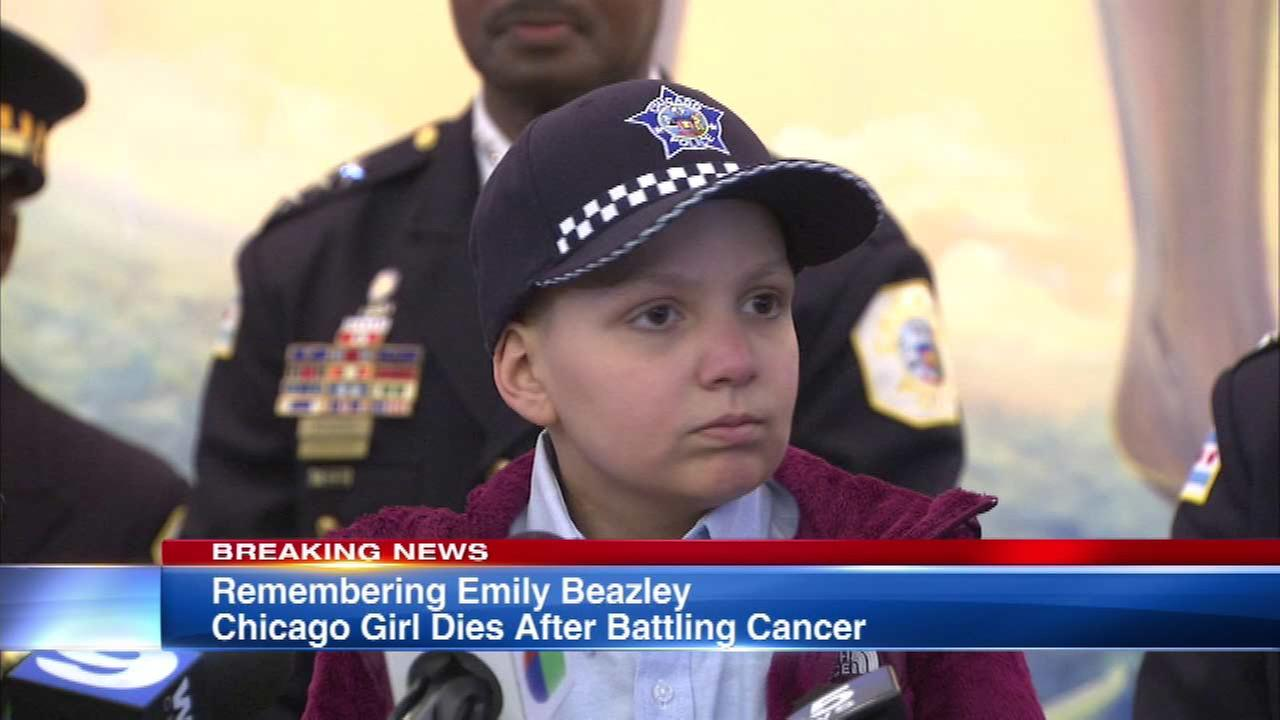 Young cancer patient who had street named after her dies