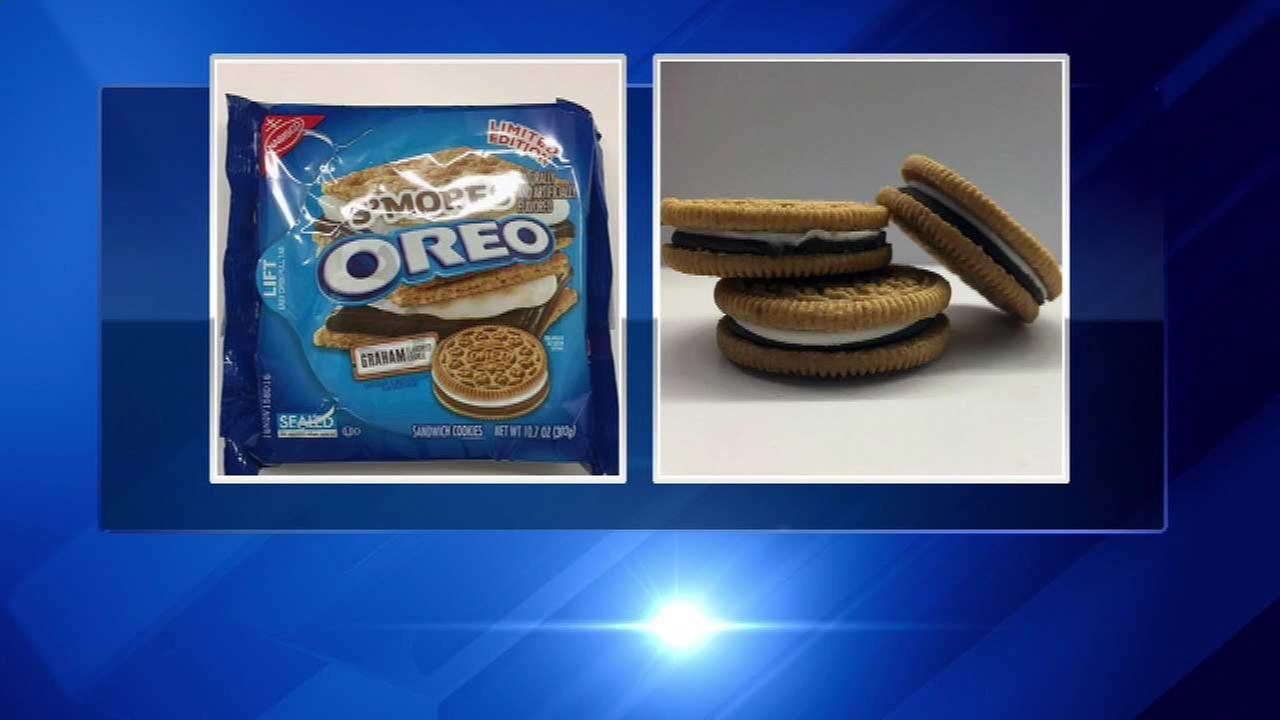 S'mores Oreos hit store shelves Friday