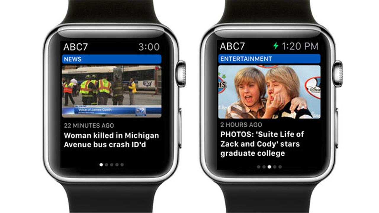 Check out ABC7 Eyewitness News on the Apple Watch
