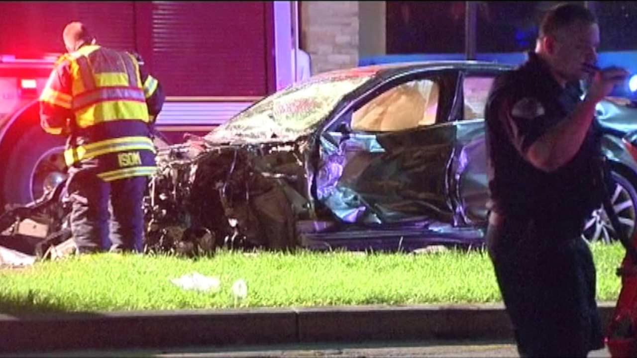 Park Ridge officer put on desk duty after crash that injured 4