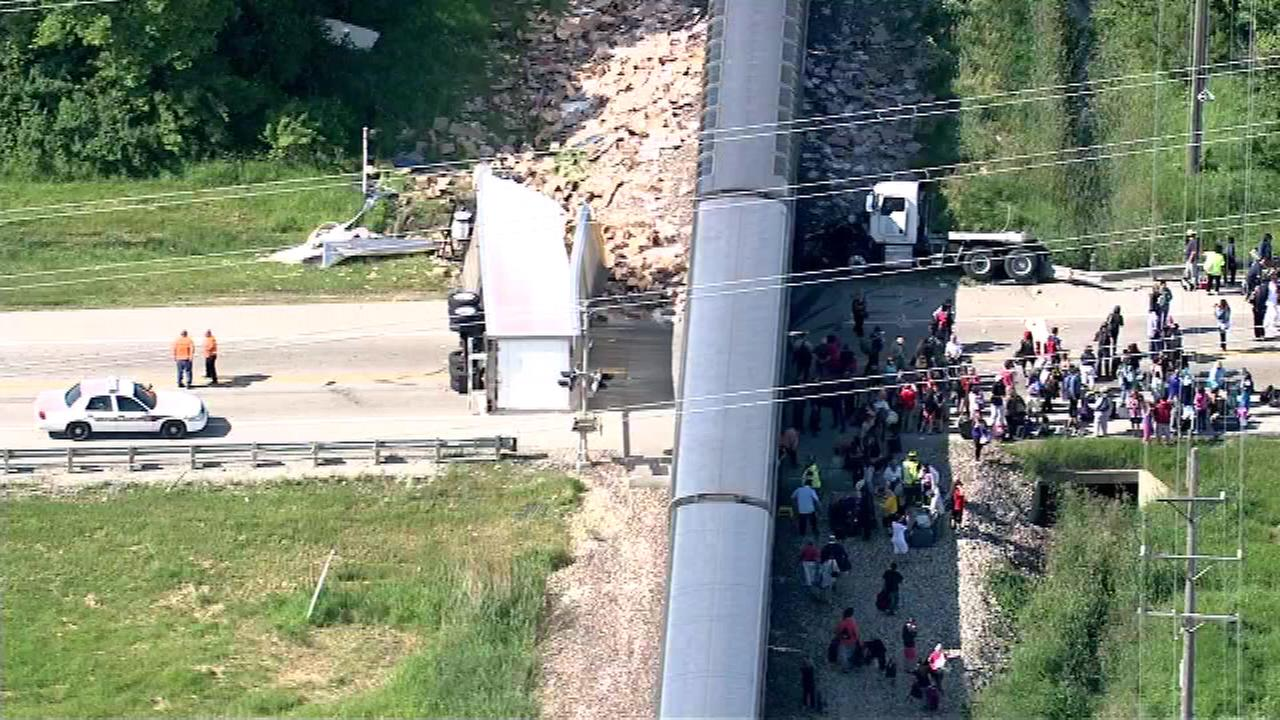 Truck driver ID'd, cited in Wilmington Amtrak train collision