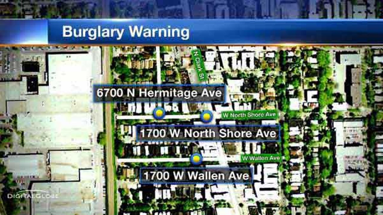 Burglars steal cash, jewelry from Rogers Park bedrooms