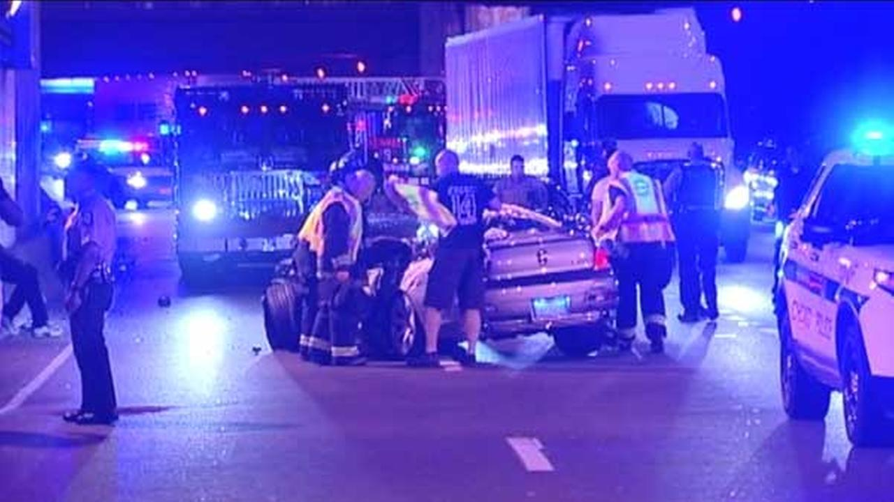 1 dead, 2 seriously injured in crash on IB Kennedy at Hubbard Cave