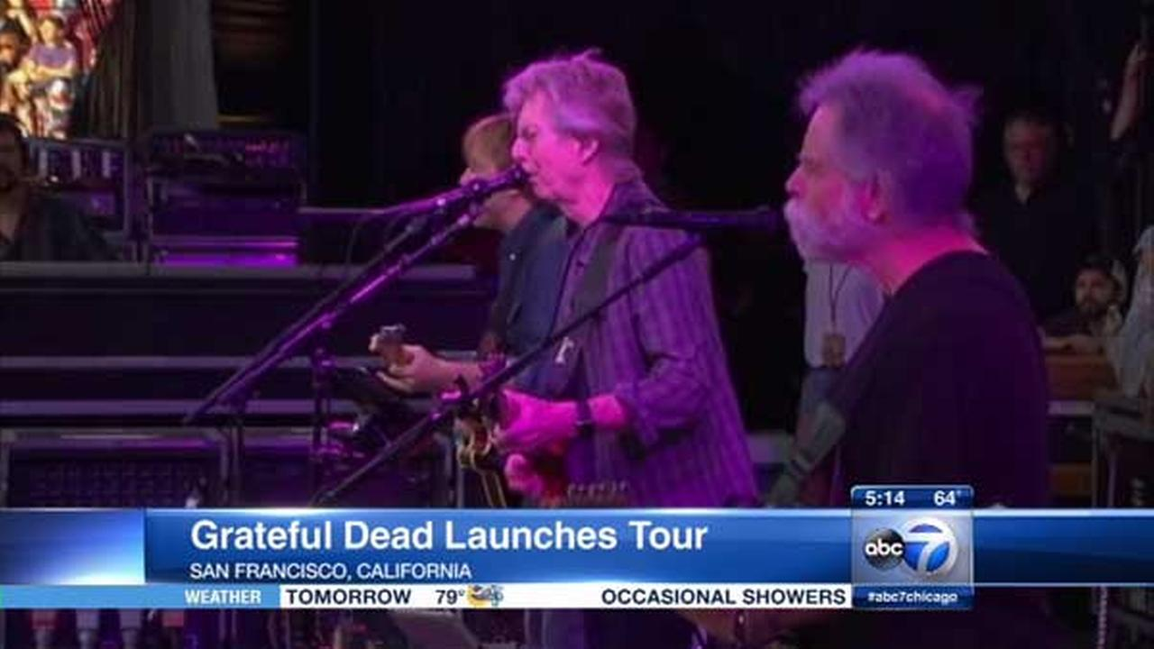 Grateful Dead to play final shows in Chicago; 'Everything is Dead' at Field Museum