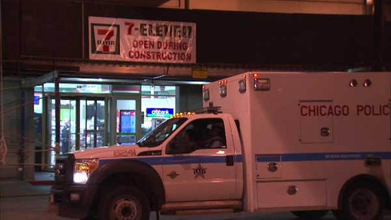 7-Eleven robber tries to hide from officers, police say
