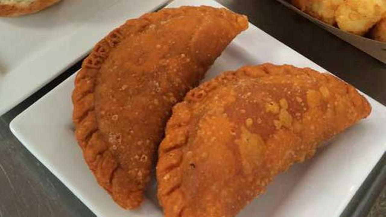 Empanadas from Beat Kitchen.