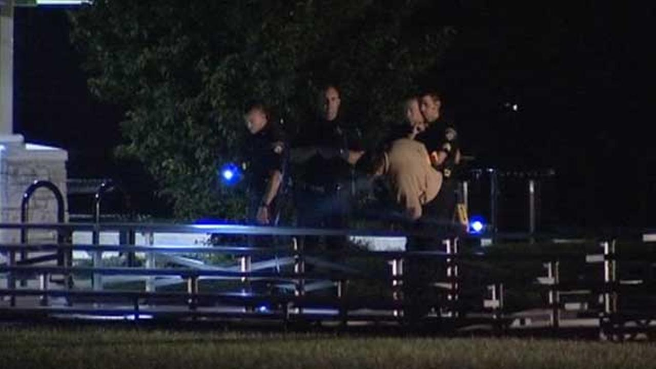 Man, 22, shot at Brookfield park