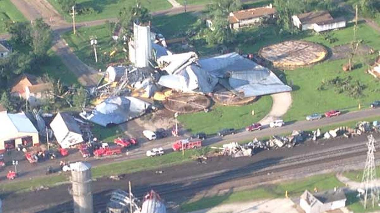 Tornado Damage In Cameron Illinois To Be Assessed