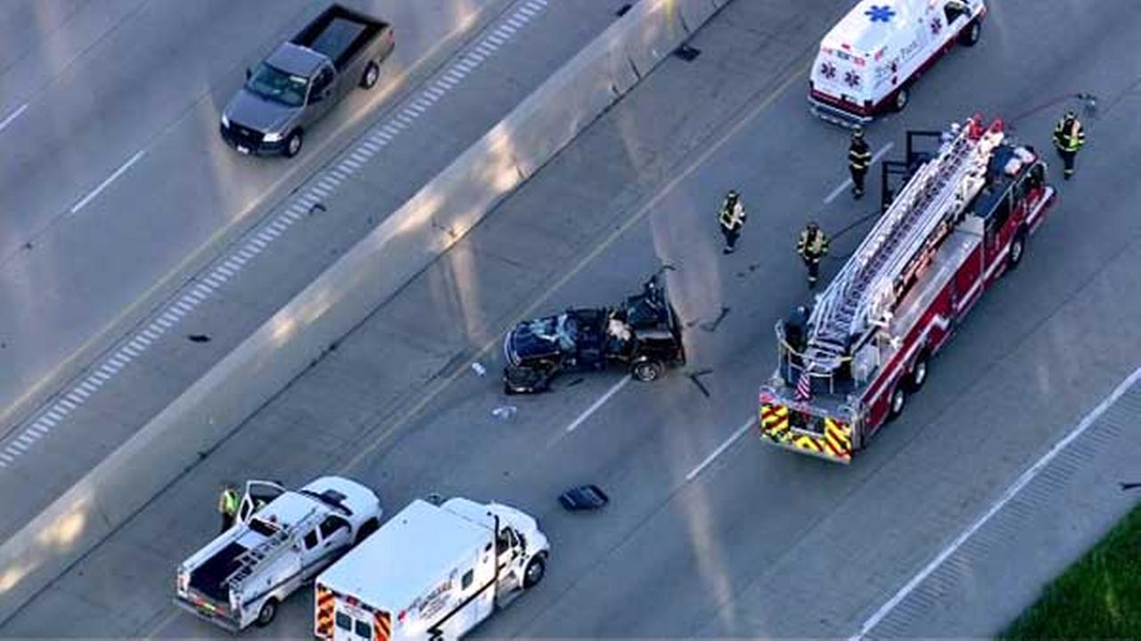 All lanes of WB I-80 reopen at LaGrange Road after crash
