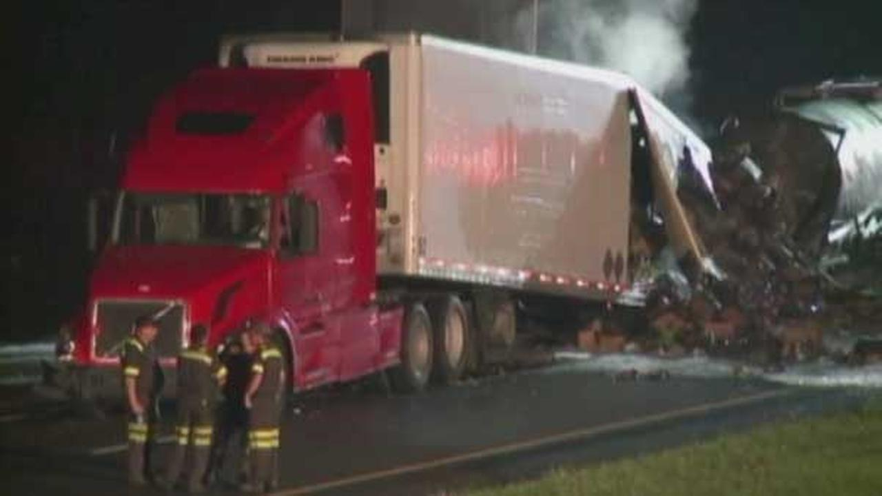 Five people, including two children, were killed in a fiery crash on I-65 near Lafayette, Indiana.