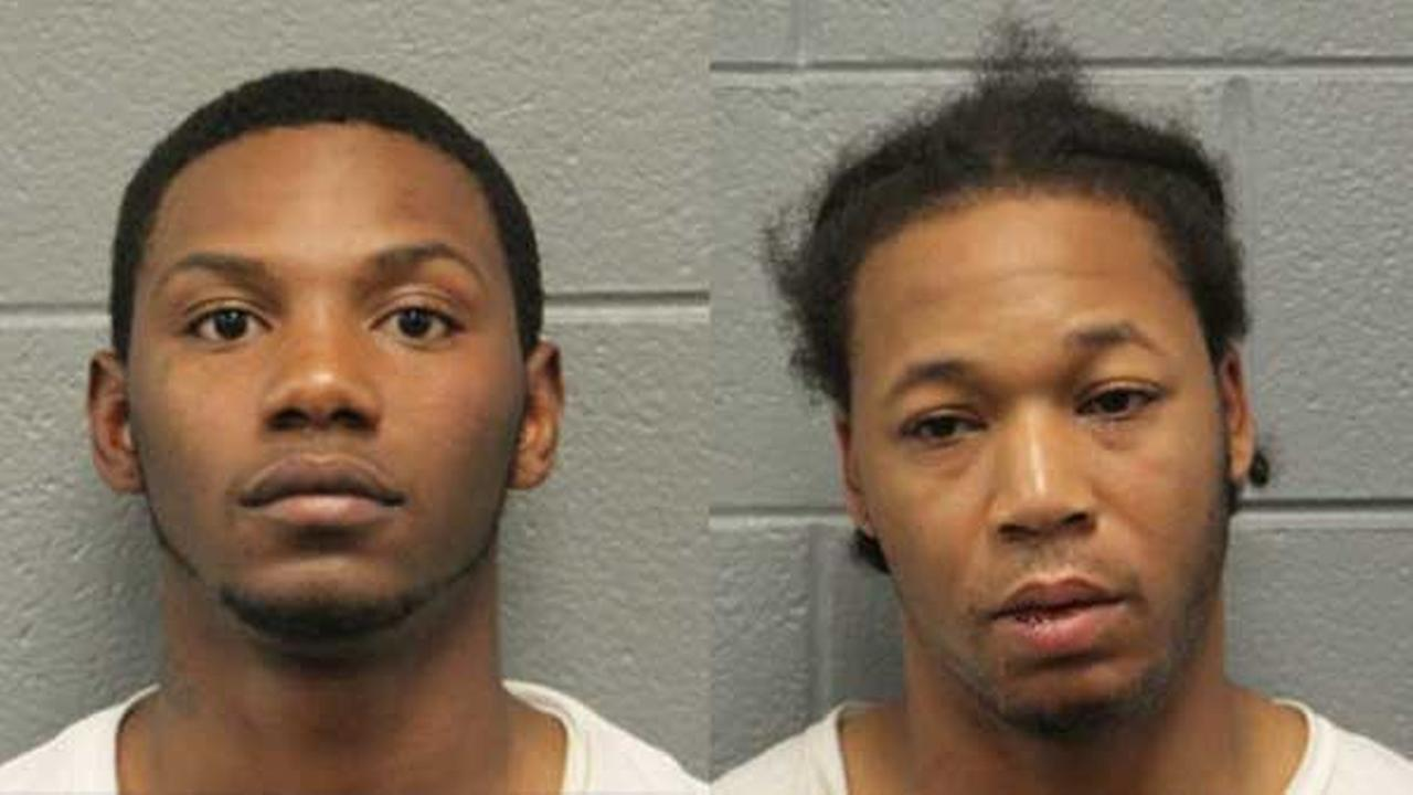 Jodie Christian, 22, and Carl Jenkins, 26, were charged after a police chase ended in a crash on Chicagos West Side.