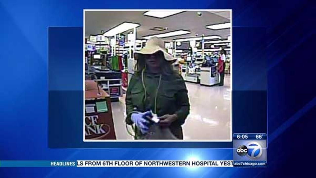 Police are searching for a woman who robbed a TCF bank in Chicagos Lakeview neighborhood.