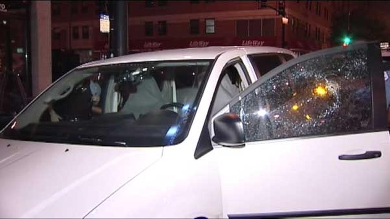 A man was shot the Chicagos River North neighborhood overnight.