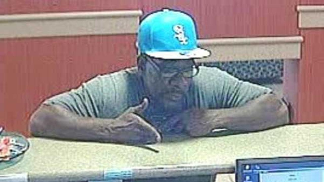 Waukegan police are searching for a man suspected of robbing the same bank twice in a week.